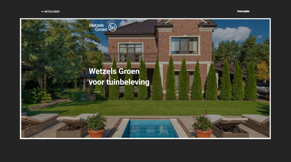 Wetzels Groen Website