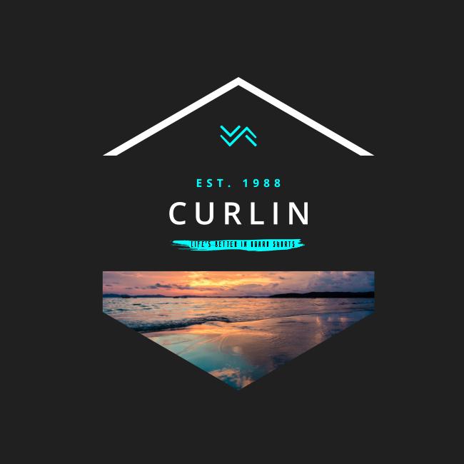 Beach sunset – Curlin T-shirt