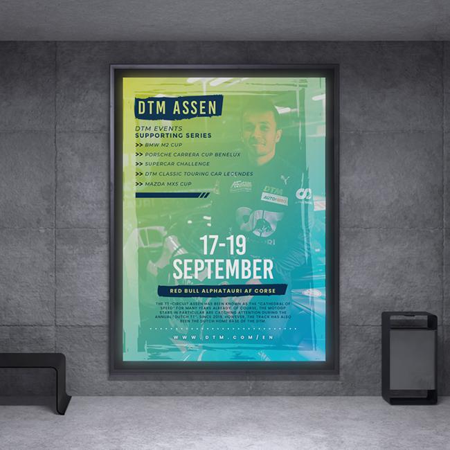 Event flyer - DTM Assen