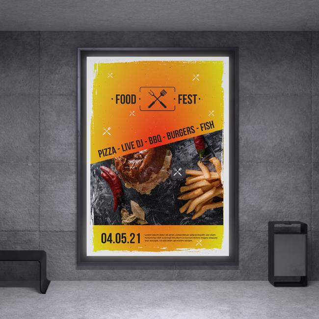 Event poster - Foodtruck festival