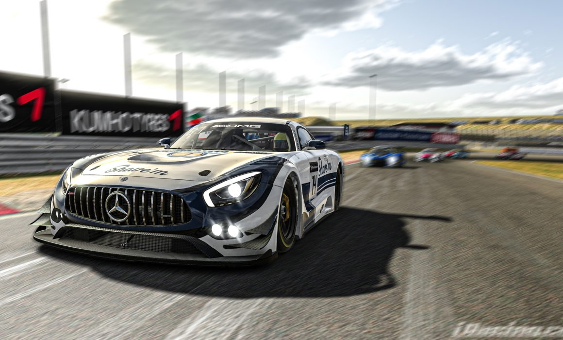 iRacing - Mercedes AMG GT3 Shave'm Livery